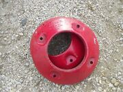 Massey Harris Pony Tractor Rear Mh Wheel Weights Weight
