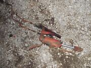 Massey Harris 44 Tractor Mh Hydraulic Hitch Lift Cylinder And Hoses 3pt Hitch