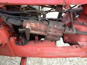 Massey Harris 44 Mh Tractor Behlin Complete Power Steering Assembly And Shaft And