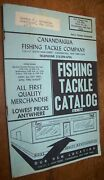 1968 Vintage Canandaigua Ny Fishing Tackle Co Catalog Book Lures Rods Reels