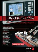 Fagor Automation 40i Dro Prokit Installation Package For Lathes New 3 Or 4 Axis