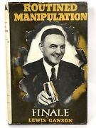 Routined Manipulation Finale By Louis Ganson First Edition 1954 Magic Trick Book