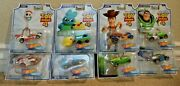 Hot Wheels Toy Story 4 Wave 1 And 2 Set Of 8 Ducky And Bunny Bo Peep Duke New
