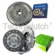 Valeo 3 Part Clutch Kit And Sachs Dmf For Audi A6 Estate 1.9 Tdi