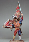 To Be Painted Russian Vityaz Elite Soldier Landsknecht With Large Banner