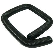 2.5 Black Flexible Heater A/c Duct Hose Defroster Nos For Buick