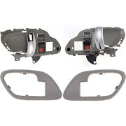 New Kit Interior Door Handle Front Driver And Passenger Side For Chevy Suburban