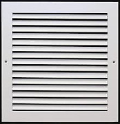 Air Guide Return Grille With Square Contour Frame Andndash Rame-wh