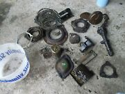 Oliver 77 Tractor Parts Pieces Covers Oil Pump Shims Holders