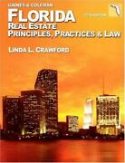 Florida Real Estate Principles Practices And Law By George Jr. Gaines Linda