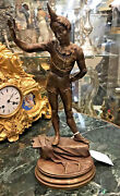 A.barye French Circus Performer Bronze Statue Circa 1880