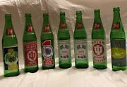 7 Up Commemorative Bottles Indianapolis 500 Iu And Notre Dame Basketball