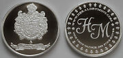 1 Oz Hw Minting Company Heraldry Mint Spain Fine .999 Silver Coin / Round