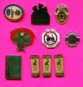 Police Fire First Responder Pins Lot P1 Pick A Pin 1-2-3 Buy All 10