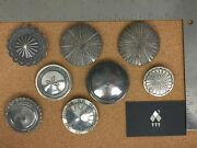 Vintage Southwestern Sterling Silver Concho Brooch Lot 2 - Individually On Req.