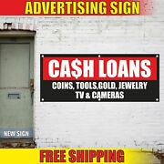 Cash Loans Coins Tools Gold Jewelry Tv Advertising Banner Vinyl Mesh Decal Sign