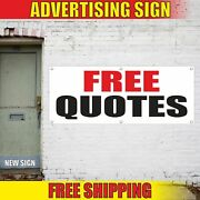 Free Quotes Advertising Banner Vinyl Mesh Decal Sign Insurance Life Auto Homeown
