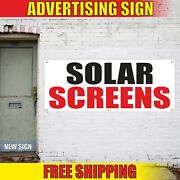 Solar Screens Advertising Banner Vinyl Mesh Decal Sign Many Sizes Free Shipping