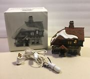 Dept 56 Christmas Charles Dickens Collection Old East Rectory Building 58322