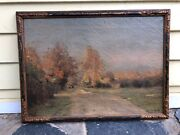 Listed Signed French Oil Painting Marie Joseph Leon Clavel Iwill Original Museum