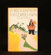 1971 A Kiss A Day Keeps The Corpses Away James Yardley First Edition Mystery