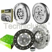 Valeo 3 Part Clutch Kit And Luk Dmf For Peugeot 307 Cc Convertible 2.0 Hdi 135