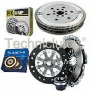 Sachs 3 Part Clutch Kit And Luk Dmf For Bmw 3 Series Berlina 318 Tds