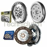 Sachs 3 Part Clutch Kit And Luk Dmf For Audi A3 Convertible 1.9 Tdi