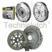 Nationwide 3 Part Clutch Kit And Luk Dmf For Bmw 5 Series Berlina 523i