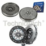 Nationwide 3 Part Clutch Kit And Sachs Dmf For Bmw 3 Series Berlina 320d