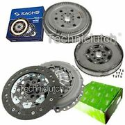 Valeo Clutch And Sachs Dmf With Luk Csc For Opel Combo Box/estate 1.3 Cdti 16v