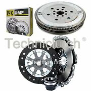 Nationwide 3 Part Clutch Kit And Luk Dmf For Bmw 5 Series Estate 518i