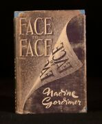 1949 Nadine Gordimer First Edition Face To Face Original Dustwrapper Signed