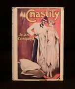 1929 Joan Conquest Chastity A Drama Of The East First Edition Scarce