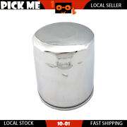 Motorcycle Silvery Oil Filter For Harley Davidson Flhrse3 Screaminand039 Efiandnbsp2007
