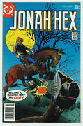 Jonah Hex 5 8.0 Reprints 1st App From All Star Western 10 Ow/w Pgs 1977