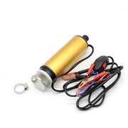 Car Electric Submersible Pump Diesel Fuel Water Oil Transfer Button Filter Net