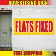 Flats Fixed Advertising Banner Vinyl Mesh Decal Sign SpeСial Tire Screen Service