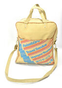 Vintage 70s American Express Travel Agent Carry On Luggage Airline Bag