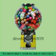 Candy Vending Machine Automatically Toy Vending Machines Yellow