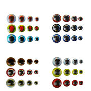 3d Fish Eyes Fly Tying Lure Holographic Eyes Doll Eye Crafts Diy Lures 3/4/5/6mm