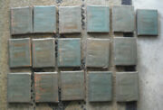Lot Of 16 Antique Little Leather Library Story Books