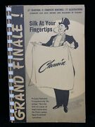 Grand Finale 1952 Silk At Your Fingertips By Jack Chanin Magic Trick Lesson Book
