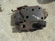 International 300 350 Utility Tractor Ih Out Hydraulic Control Valve And Flw Block