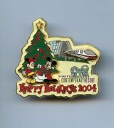 Disney Holidays Contemporary Resort Hotel Minnie And Mickey Tree Monorail Le Pin