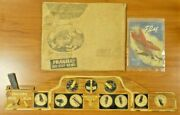 Super Rare 1941 Captain Sparks Paper Toy With Original Mailing Envelope And Book