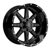 20x10 Tuff T15 33 Fuel At Wheel And Tire Package 8x6.5 Gmc Sierra Hd 2500 3500