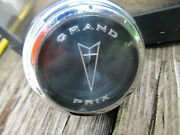 1965 1966 Pontiac Grand Prix Steering Wheel Horn Cap Chrom As Is For Pats