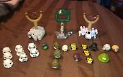 Mixed Lot Of Angry Birds Star Wars Xwing Millennium Falcon Han Solo Death 25 Pcs