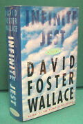 Infinite Jest By David Foster Wallace-first Edition In First Issue Dust Jacket